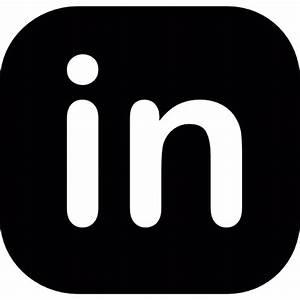 12 LinkedIn Icon Flat Images - Round LinkedIn Icon ...