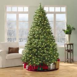 Kmart Artificial Christmas Tree Stand by 7 5 600 Clear Light Pre Lit Ridgedale Cashmere Pine