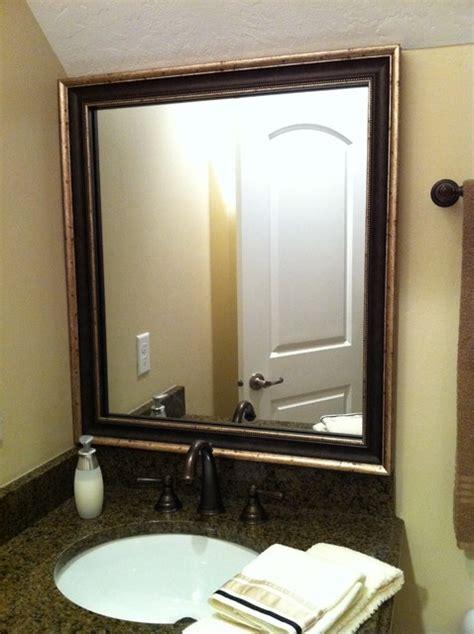 Traditional Bathroom Mirror by Mirror Frame Kit Traditional Bathroom Mirrors Salt