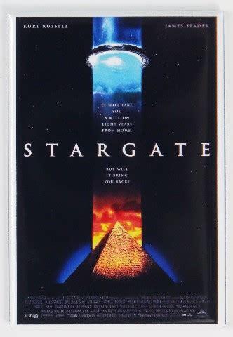 stargate  poster fridge magnet sci fi horror aliens