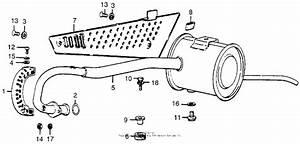 Muffler For Honda Mr50