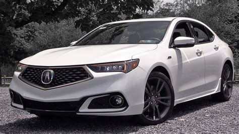 2019 Acura Tlx Review Youtube