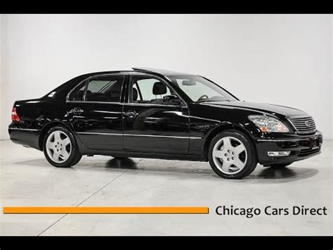 how to sell used cars 2005 lexus ls electronic toll collection chicago cars direct reviews presents a 2005 lexus ls 430 modern luxury 5010360 youtube