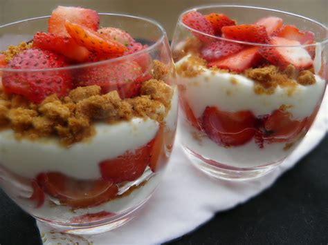 verrine de fraises aux speculoos