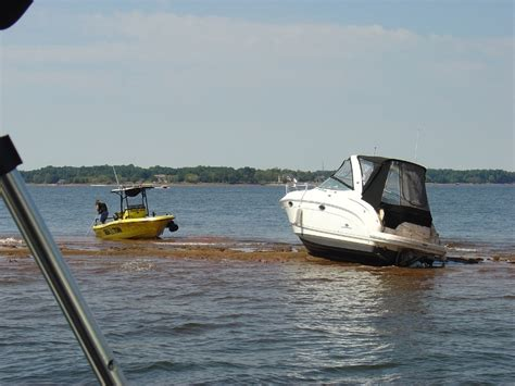 Boats Lake Norman Nc by Lake Norman Is Low Even Seatow Got Stuck Assessing The