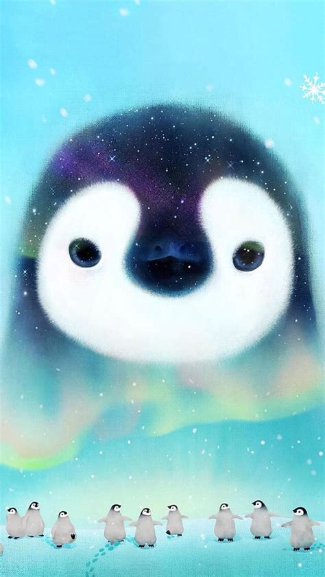 pin  tina liroff  cute wallpapers cute penguins