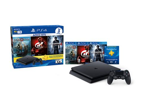 consola ps hits  slim  tera  control  juegos   meses ktronix tienda