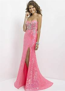 Pink Sequin Dress is a Pretty Fashion Item