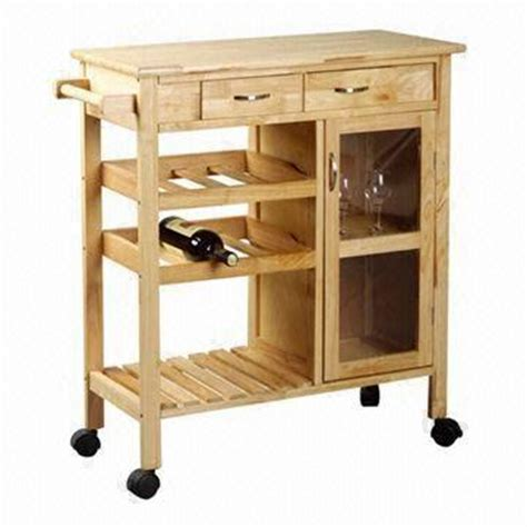 kitchen trolley cabinet oak kitchen trolley with shelves drawer and cabinet 3392