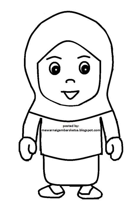 Gambar kartun muslimah sering kali dijadikan sebagai walpapper handpone, stiker ketika whatsappan bahkan poto profil untuk sosial media. Mewarnai Gambar: Mewarnai Gambar Sketsa Kartun Anak Muslimah 81