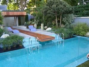 Effektvolle Poolgestaltung Im Garten