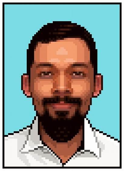 Photoshop Pixel Portrait Create Adobe Tutorial Tutorials