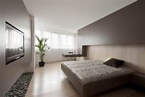 Small modern bedroom home design for Design for small bedroom modern