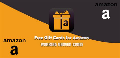 unused amazon gift card codes working list