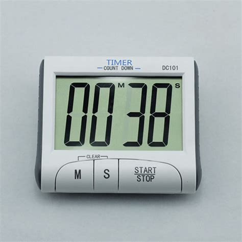 magnetic large digital lcd display count  kitchen