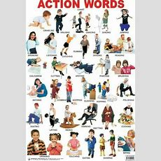 Action Verbs  Visual Dictionary  English  Pinterest  Exercise, Action Verbs And Words
