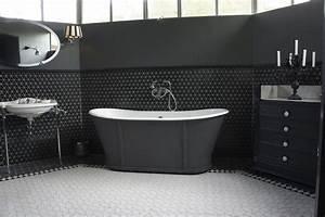 Mosaique Salle De Bain Noir. maison moderne en noir et blanc ...