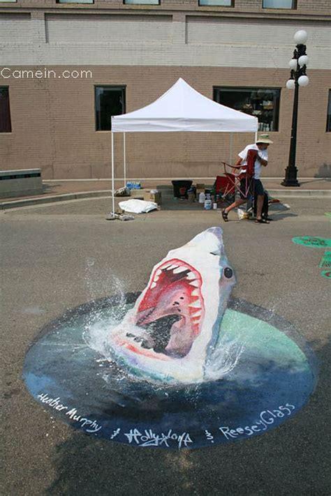 perspective street art  julian beever
