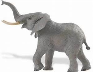 African Elephant Toy Large Figurine Wildlife Wonders at