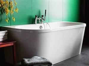 Freistehende Badewanne Eckig : freistehende badewanne mallorca aus acryl wei gl nzend 170x75x63 oval eckig modern duo ~ Sanjose-hotels-ca.com Haus und Dekorationen