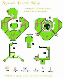The Legend Of Zelda Twilight Princess Hyrule Castle Map