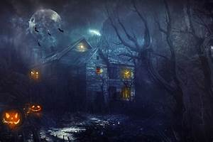 Haunted House Wallpaper ·①