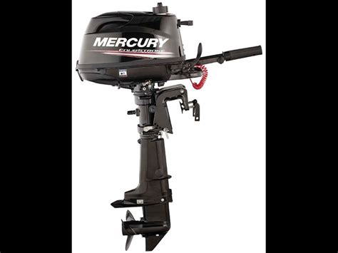 Mercury Outboard Motors Made by Mercury 5hp Four Stroke Portable Outboard Motor Review