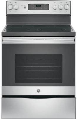 ge   standing electric range jbc spencers tv appliances