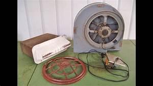 Vintage Fasco Kitchen Exhaust Fan Demo