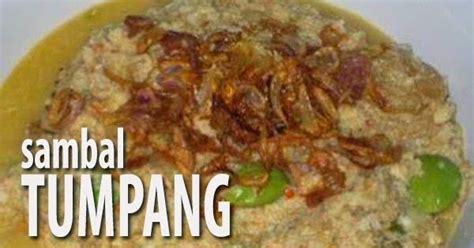 resep sambal tumpang khas jawa aneka resep   masak