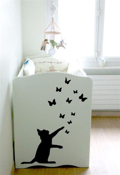 decoration chambre bebe chat
