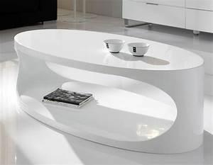 Table Basse Ovale Blanche : javascript est d sactiv dans votre navigateur ~ Teatrodelosmanantiales.com Idées de Décoration