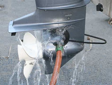Boat Engine Muffs by How To Flush Your Outboard Engine Boathouse Marine Center