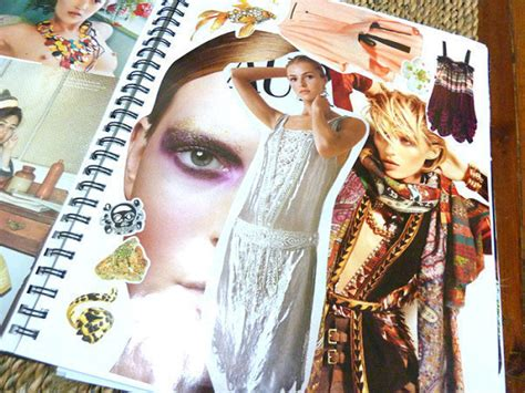fashion scrapbook     scrapbook papercraft
