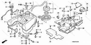 Honda Atv 2006 Oem Parts Diagram For Fuel Tank