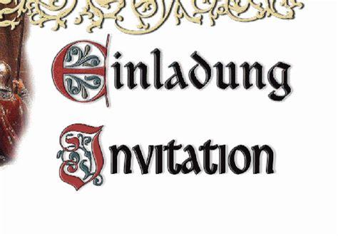 mittelalterliche einladung hochzeit hochzeitsforumde