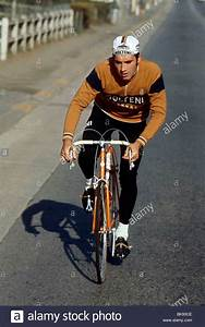 Belgium professional cyclist Eddy Merckx Stock Photo