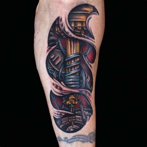 Biomechanical Tattoo By Julia Carson Ink Master