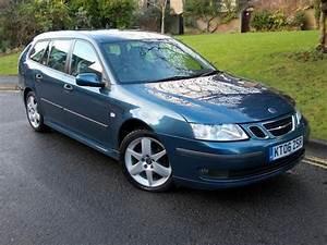 Used Saab 9 3 2006 Diesel 1 9 Tid Vector Sport Estate Blue