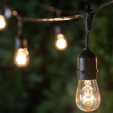 outdoor patio string lights commercial patio string lights yard envy