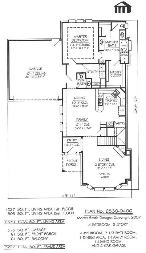 2 Story, 4 Bedroom, 2 1/2 Bathroom, 1 Dining room, 1