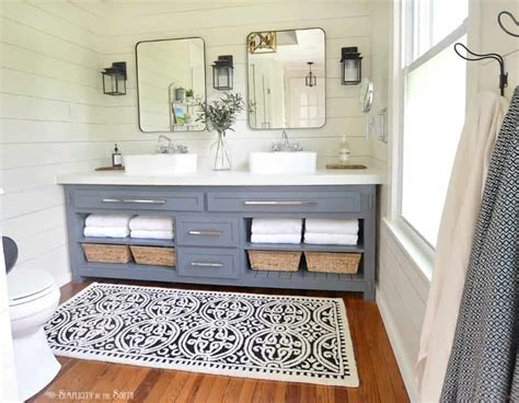 Master Bedroom Remodel On A Budget by The Modern Farmhouse Master Bathroom Reveal