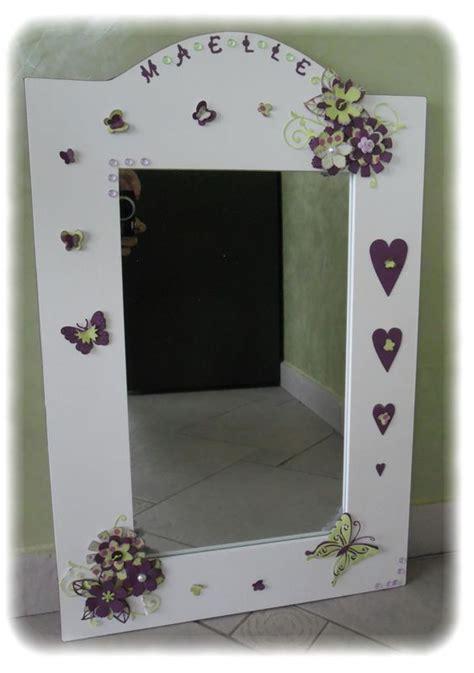miroir chambre fille miroir pour fille les p 39 tites décos