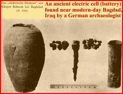 Battery Baghdad Ancient History Electricity Batteries Iraq