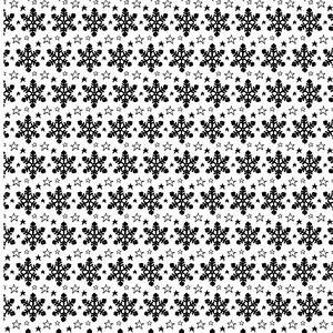 Hand drawn transparent snowflake seamless free vector ...