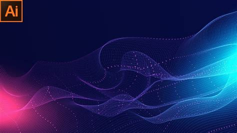abstract technology background design wavy  design