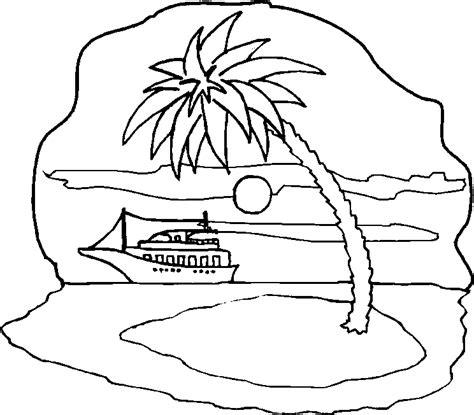 Dibujos Para Colorear De Islas Infantiles Impresion gratuita