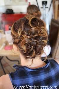 Coiffure Mariage Invitée : chignon sur cheveux courts coiffure invit e r alis e ~ Melissatoandfro.com Idées de Décoration