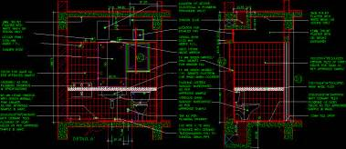 bathroom detail 3 bedroom house dwg plan for autocad