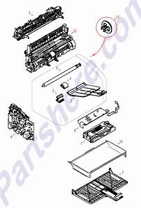Rm1-2096-000cn Hp Fuser Assembly - Bonds To
